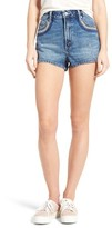 Tularosa Women's Emma High Rise Denim Shorts