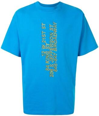Honey Fucking Dijon slogan print crewneck T-shirt