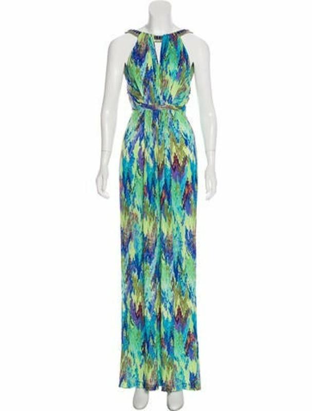 Matthew Williamson Printed Maxi Dress Multicolor