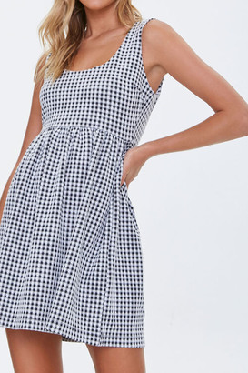 Forever 21 Gingham Mini Dress