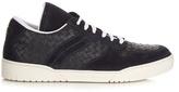 Bottega Veneta Intrecciato low-top leather trainers