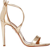 Aquazzura Women's Linda Sandals-GOLD