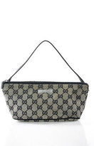 Gucci Multi-Color Monogrammed Canvas Clutch Handbag