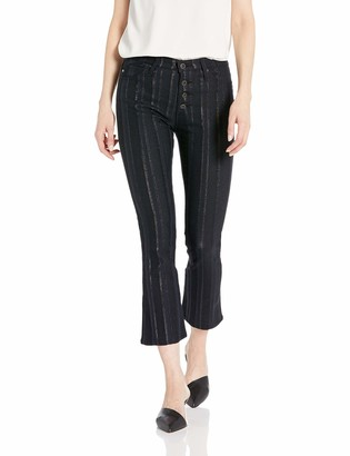 AG Jeans Women's Jodi Crop Button UP