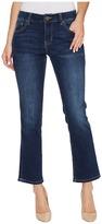 Jag Jeans Haven Ankle Flare Platinum Denim in Bucket Blue Women's Jeans