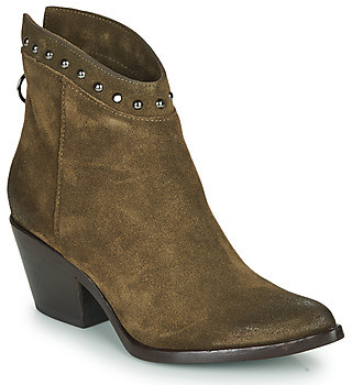 Mjus TEP women's Low Ankle Boots in Kaki