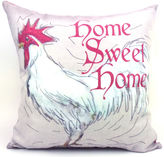 Asstd National Brand Home Sweet Home Rooster Decorative Pillow