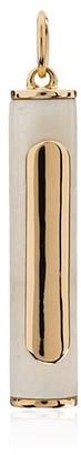Foundrae 18kt gold Wood Clockweight Pendulum pendant