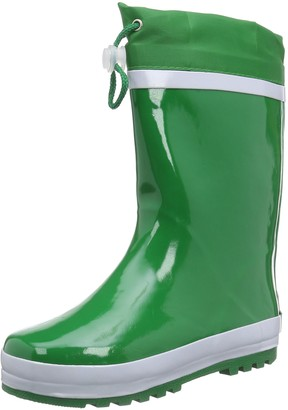 Playshoes Unisex Kid's Lined Rain Boot Wellies Basic Wellington Rubber