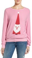 Wildfox Couture Baggy Beach Jumper - Winking Santa Pullover