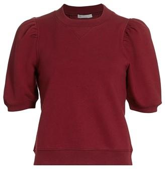 Design History Puff-Sleeve Sweatshirt