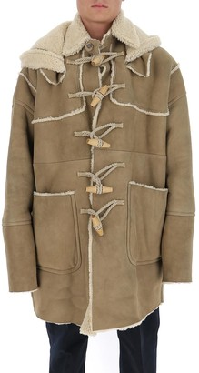 DSQUARED2 Patch Pockets Hooded Duffle Coat