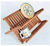 Lipper 883 Bamboo Folding Dishrack