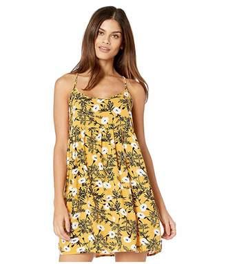 Roxy Tropical Sundance Dress (Honey Gold/Honey) Women's Dress
