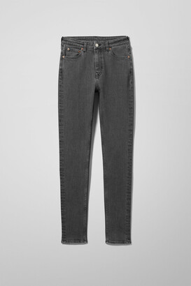 Weekday Thursday High Skinny Jeans - Grey