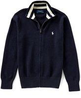 Ralph Lauren Big Boys 8-20 Full-Zip Sweater