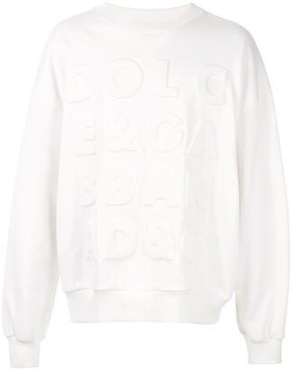 Dolce & Gabbana Logo Detail Sweatshirt