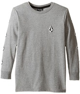 Volcom Deadly Stones Long Sleeve Tee (Toddler/Little Kids)