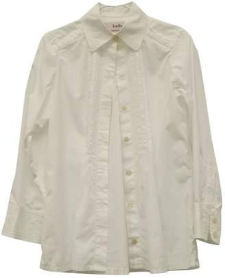 Luella White Cotton Dress for Women