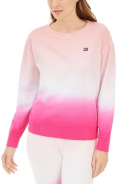 Tommy Hilfiger Ombre Cotton Sweatshirt
