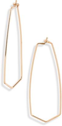 BP Polygon Hoop Earrings