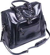 """Clark & Mayfield Women's Irvington Bowler Vintage Leather Laptop 15.6"""" Shoulder Bags"""