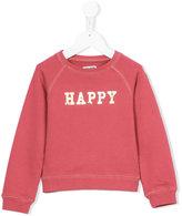 Zadig & Voltaire Kids - Happy sweatshirt - kids - Cotton/Spandex/Elastane - 6 yrs