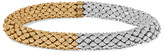 Carolina Bucci Twister 18-karat Yellow And White Gold Bracelet - one size