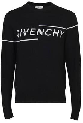 Givenchy Logo wool crew knitwear
