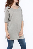 Timeless Grey Tunic Top