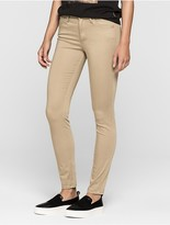 Calvin Klein Sculpted Colored Wash Skinny Pants