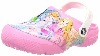 Crocs Baby Kid's Disney Princess Clog|Water Shoe for Toddlers|Girls' Slip On Sandal