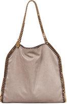 Stella McCartney Falabella Small Tote Bag, Metallic Gray
