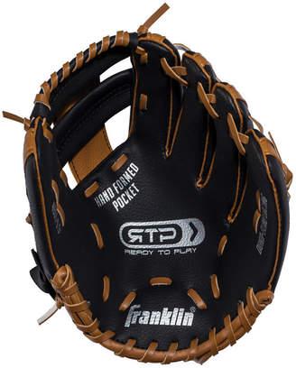 "Franklin Sports 9.5"" Rtp Performance Teeball Glove Black/Brown - Right Handed Thrower"