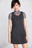 BDG Scoop-Neck A-Line Denim Mini Dress
