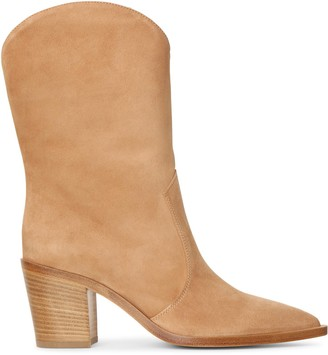 Gianvito Rossi Sahara suede ankle boots