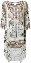 Camilla embellished print dress