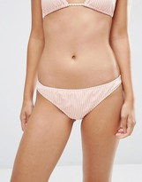 Asos Mix and Match Seersucker Stripe Hipster Bikini Bottom