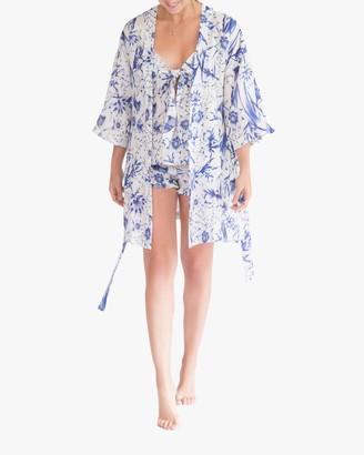 The Lazy Poet Lola Kimono Linen Robe