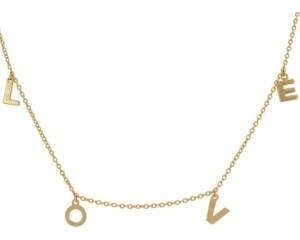ADORNIA Love Dangle Necklace
