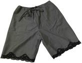 Alexander Wang Grey Wool Shorts for Women