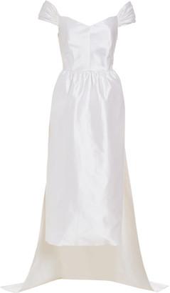 MARKARIAN Celeste Off-The-Shoulder Silk Gown
