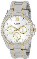Pulsar Women's PP6100 Analog Display Japanese Quartz Gold Watch