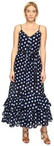 Moschino Ruffle Bottom Maxi Dress Women's Dress