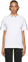 adidas White Trefoil Collar T-Shirt