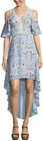 COFFEE & CAKE Disney Beauty & The Beast Maxi Dress-Juniors