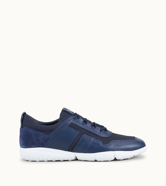 Tod's Sneakers in Leather and High Tech Fabric