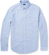 J.Crew Button-down Collar Cotton Oxford Shirt - Blue
