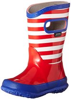 Bogs Stripes Rain Boot (Toddler/Little Kid/Big Kid)