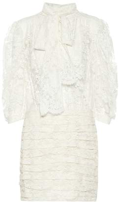 Magda Butrym Labutes lace minidress